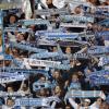 Football: Fans de l'OM à Lausanne