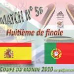 Match Espagne - Portugal