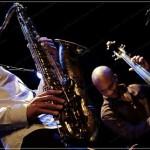 06_01.11.2008 Joshua Redman Reuben Rogers jazz saxophone bass,Festival Jazz Onze+, Lausanne Juan-Carlos Hernandez
